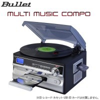 BULLET マルチミュージックコンポ(MLC-100K)
