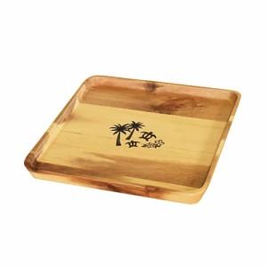 かのりゅう Ranikai(ラニカイ) 木製食器 スクエアプレートM S17-9-9s