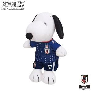 SNOOPY スヌーピー ぬいぐるみ サッカー日本代表 182200