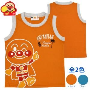 44480bf7265be タンクトップ 男の子 ベビー アンパンマン かわいいオレンジ