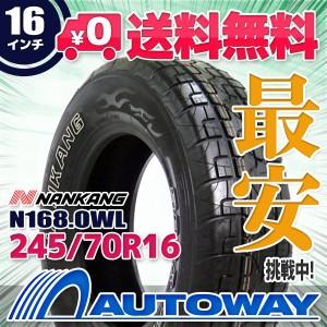 ◆送料無料◆【新品】 【タイヤ】 NANKANG N168.OWL 245/70R16 107T
