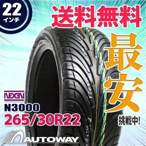 ◆送料無料◆【新品】 【タイヤ】 NNEXEN N3000 265/30R22 97Y