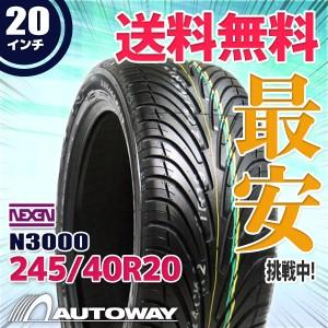 ◆送料無料◆【新品】 【タイヤ】 NNEXEN N3000 245/40R20 99Y