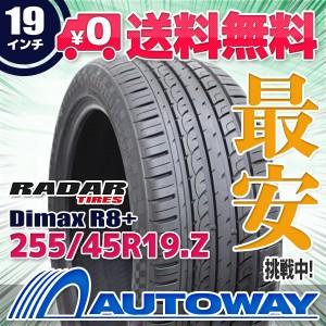 ◆送料無料◆【新品】 【タイヤ】  Radar Dimax R8+ 255/45R19