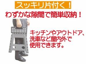 折り畳み踏み台ワンステップ 高さ39cm耐荷重100kg OFD130