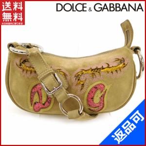 ドルチェ&ガッバーナ バッグ DOLCE&GABBANA ハンドバッグ  (良品・即納) 【中古】 X4328