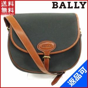 バリー バッグ BALLY ショルダーバッグ グリーン 良品 人気 【中古】 X8185