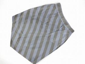 ヴィヴィアン・ウエストウッド ボトムス Vivienne Westwood スカート グレー×ブルー系 即納 【中古】 X2284