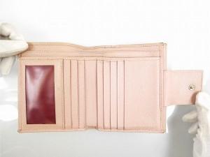 ブルガリ 財布 BVLGARI 二つ折り財布 ブルガリブルガリ ピンク 人気 即納 【中古】 X11634
