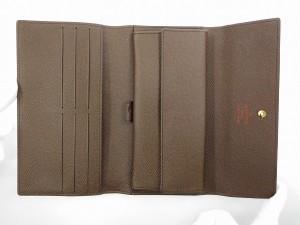 ルイヴィトン 財布 LOUIS VUITTON 長財布 三つ折り財布 メンズ可 ポルトトレゾールインターナショナル 送料無料 即納 【中古】 X16355