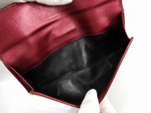 グッチ 財布 GUCCI 長財布 ハート金具 ベージュ×ワインレッド 即納 【中古】 X12059