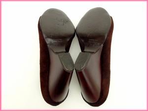 ジュゼッペザノッティ 靴 GIUSEPPE ZANOTTI パンプス #35 12 ボルドー (人気 良品) 【中古】 X5895