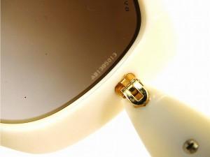 ブルガリ サングラス BVLGARI サングラス アイボリー×ブラウン 美品 即納 新品同様【中古】 X12571
