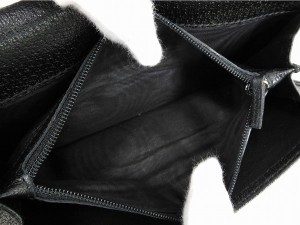 グッチ 財布 GUCCI 長財布 三つ折り財布 プリンシー ブラック 即納 【中古】 X12097