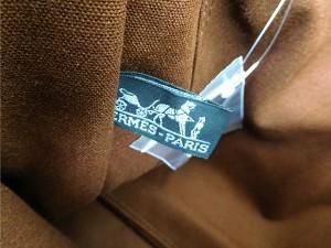 エルメス バッグ HERMES トートバッグ フールトゥMM ブラウン 人気 即納 【中古】 X14899