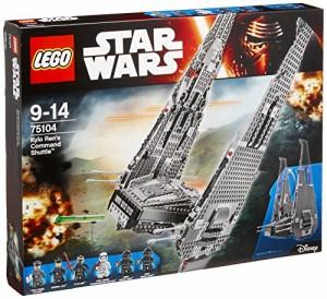 レゴ (LEGO)  スター・ウォーズ カイロ・レンのコマンドーシャトル[TM] 75104