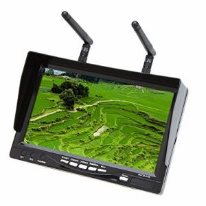 GoolRC RC732-DVR オールインワン フルセット 7in 800*480 HD LCD FPV モニター バッテリー 32CH 5.8G ワイヤレス ダイバーシティ レシー