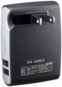 BUFFALO USB充電器2A対応 急速充電対応4ポート ブラック BSIPA09BK (対応機種)iPhone7,iPhone7Plus,Nintendo classic mini