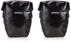ORTLIEB(オルトリーブ) バックローラー シティ ブラック 40L(ペア) サイドバッグ 【並行輸入品】F5002