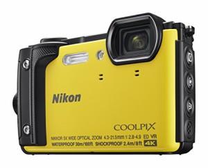 Nikon デジタルカメラ COOLPIX W300 YW クールピクス イエロー 防水