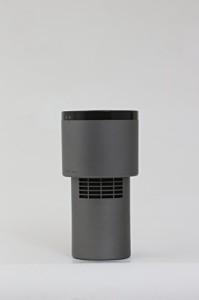 UV殺菌消臭器 LEDピュア AC1 車内用 ダークシルバー