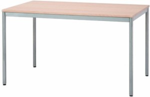 ナカバヤシ テーブル オフィスデスク 120x75cm ナチュラル木目 HEM-1275NM