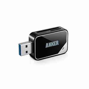 """Anker USB 3.0 SD/TFカードリーダー SD-XC、SD、MMC、RS-MMC、SD-HC、Micro SD、Mini SDに対応 【18ヶ月保証】"""