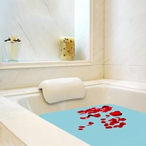 お風呂まくら 枕 バスピロー 吸盤 滑り止め付 半身浴 入浴 抗菌 防臭 消臭 清潔 速乾性 正規品保証