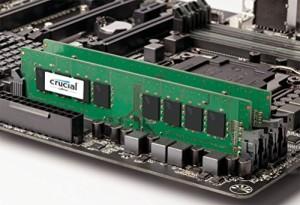 Crucial [Micron製] DDR4 デスク用メモリー 8GB x 2 ( 2400MT/s / PC4-19200 / 288pin / SR x8 )永久保証 CT2K8G4DFS824A