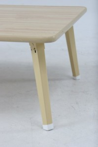 不二貿易 ローテーブル 折りたたみ ちゃぶ台 幅90×奥行60cm ナチュラル 78146