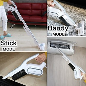 掃除機 サイクロン 軽量 ハンディ スティック 2in1 タイプ