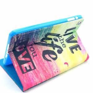 iPad mini 3/2/1 レザーケース A 液晶保護フィルム付き スマホケース  アイパッド 3/2/1ミニ iPad mini 3/2/1 ケース 手帳 iPad mini 3/2