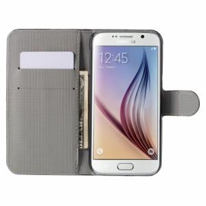 Galaxy S6 レザーケース A 液晶保護フィルム付き ギャラクシーS6 Galaxy S6 ケース 手帳 Galaxy S6 ケース 財布