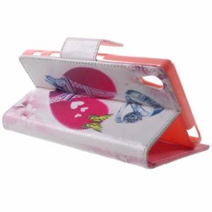 Xperia Z5 レザーケース Q 液晶保護フィルム付き エクスペリアZ5 Xperia Z5 ケース 手帳 Xperia Z5 ケース 財布