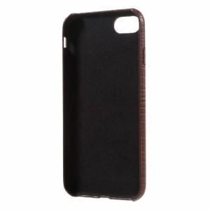 iPhone 7 ハードケース Coffee 強化ガラス保護フィルム付き アイフォン7