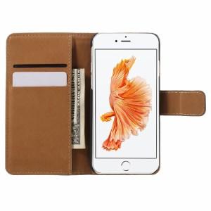 iPhone 7 レザーケース レッド 強化ガラス保護フィルム付き スマホケース  アイフォン7 iPhone 7 ケース 手帳 iPhone 7 ケース 財布