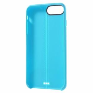 iPhone 8 Plus ハードケース iPhone 7 Plus ハードケース ブルー 強化ガラス保護フィルム付き アイフォン8 プラス / アイフォン7 プラス