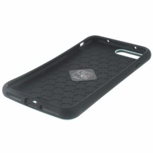 iPhone 7 Plus ソフトケース シアン 強化ガラス保護フィルム付き スマホケース  アイフォン7 プラス