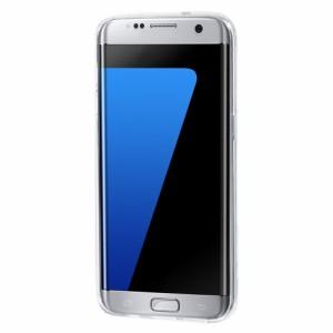 Galaxy S7 edge ハードケース ローズ 液晶保護フィルム付き ギャラクシーS7エッジ