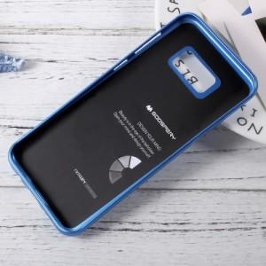 Galaxy S8 Plus ハードケース ブルー 液晶保護フィルム付き スマホケース  ギャラクシーS8 プラス 背面型耐衝撃 超薄軽量型