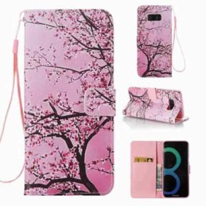 Galaxy S8 Plus レザーケース G 液晶保護フィルム付き ギャラクシーS8 プラス カバー 手帳型スタンド機能 ICカードスロット 札入れ