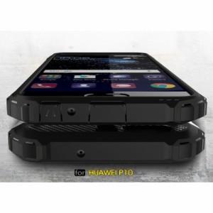 Huawei P10 Plus ハードケース ブラック 強化ガラス保護フィルム付き ファーウェイ P10 プラス 背面型超薄軽量
