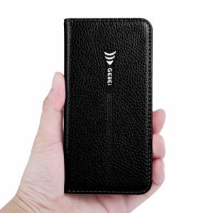 iPhone X レザーケース ダークブルー 強化ガラス保護フィルム付き スマホケース  アイフォン X カバー 手帳型スタンド機能 ICカードスロ