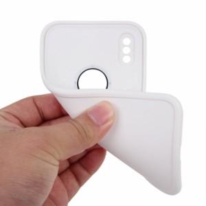 iPhone X ハードケース B 強化ガラス保護フィルム付き アイフォン X 背面型 超薄軽量