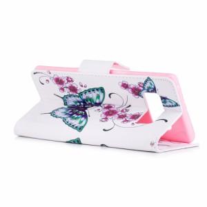 Galaxy Note 8 レザーケース D 液晶保護フィルム付き スマホケース  SC-01K SCV37 ギャラクシーノート8 カバー 手帳型 スタンド機能 ICカ