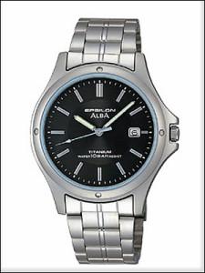 ALBA アルバ 腕時計 ASSX005 メンズ イプシロン EPSILON 純チタン SEIKO 国内セイコー