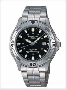 ALBA アルバ 腕時計 ASSX007 メンズ イプシロン EPSILON 純チタン SEIKO 国内セイコー