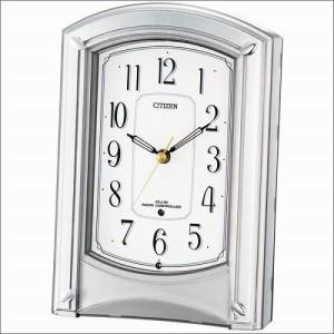 リズム時計 クロック 4RY687-019 電波置き時計 モダンライフR687