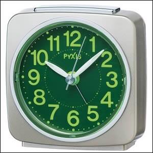 SEIKO セイコー クロック NR440G 目覚まし時計 置時計 PYXIS ピクシス