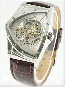 COGU コグ 腕時計 BS00T-WRG メンズ 限定モデル 機械式 自動巻き 両面スケルトン